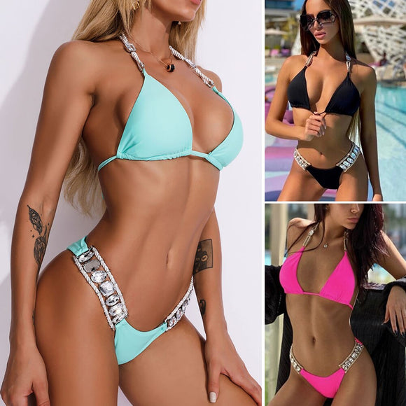Elegante bikini acolchado Push Up