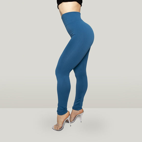 Leggings Solid Color de mujer.