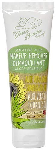 GREEN BEAVER COMPANY SENSITIVE ALOE MAKEUP REMOVER