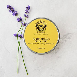 BUTTERFLY WEED HEBALS BELLY JELLY TIN