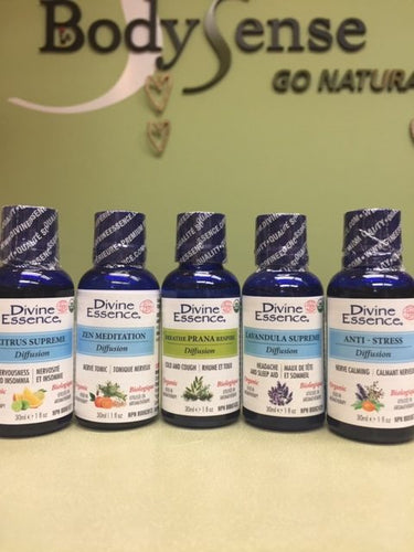 Divine Essence Organic Essential Oil Blends