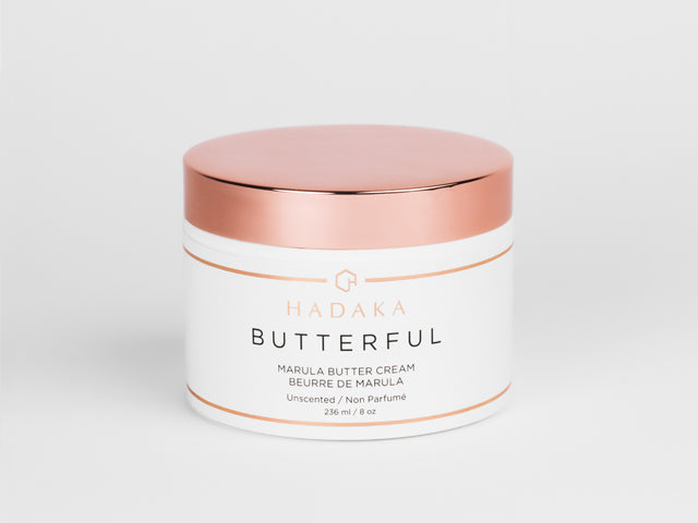 HADAKA BUTTERFULL MARULA BUTTER CREAM IN UNSCENTED