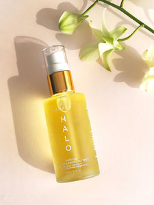 HADAKA HALO HAIR OIL BOTTLE