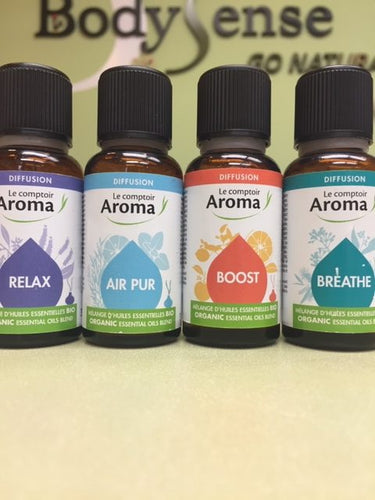Le Comptoir AROMA ORGANIC ESSENTIAL OIL Blends
