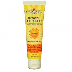 Bee By The Sea Sunscreen tube
