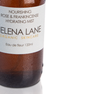 HELENA LANE NOURISHING ROSE AND FRANKINCENSE MIST - 120ML