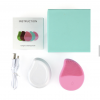 Silicon Facial Brush colour pink with box and cord