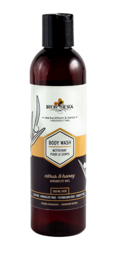 Bee by the sea body wash - citrus 250ml