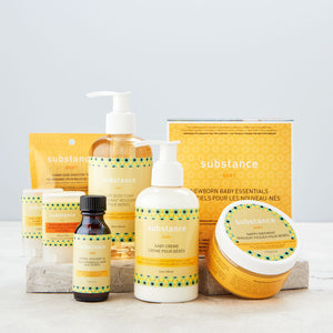 photo of assortment of Substance Baby Products