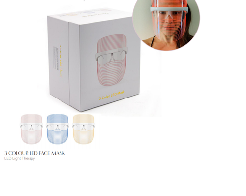 3 colour LED Face Mask