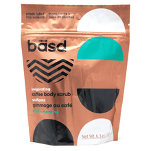 Load image into Gallery viewer, basd invigorating coffee body scrub - mint