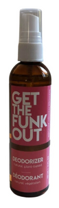 Get the Funk Out Deodorizer 4oz. bottle - bergamot geranium