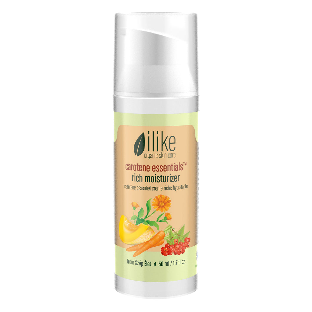 carotene essentials rich moisturizer