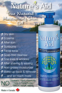 NATURE'S AID MOISTURIZING SKIN GEL BENEFITS