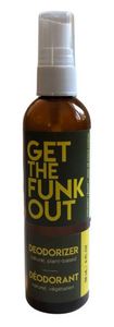 Get the Funk Out Deodorizer 4oz. bottle - coconut lemon