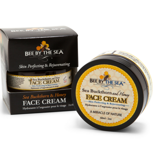 Bee By The Sea Face cream - almond oil scent - 60ml jar