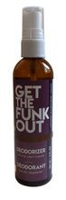 Load image into Gallery viewer, Get the Funk Out Deodorizer 4oz. bottle - lemongrass frankincense