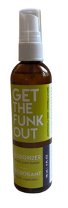 Get the Funk Out Deodorizer 4oz. bottle - lemongrass lavender
