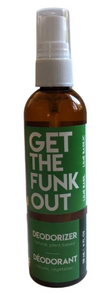 Get the Funk Out Deodorizer 4oz. bottle - lime basil