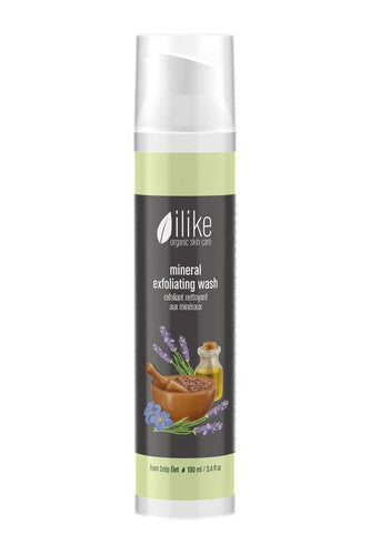 Ilike mineral exfoliating wash