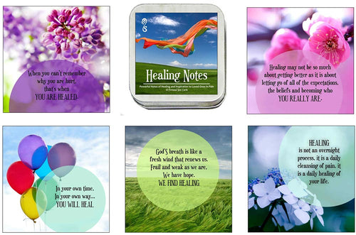 Affirmation Card Deck Healing Notes