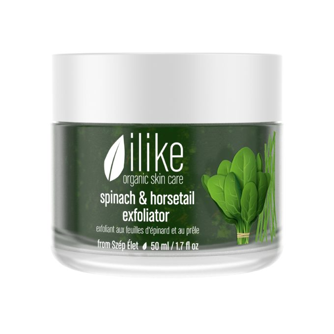Ilike Spinach and Horsetail Exfoliator