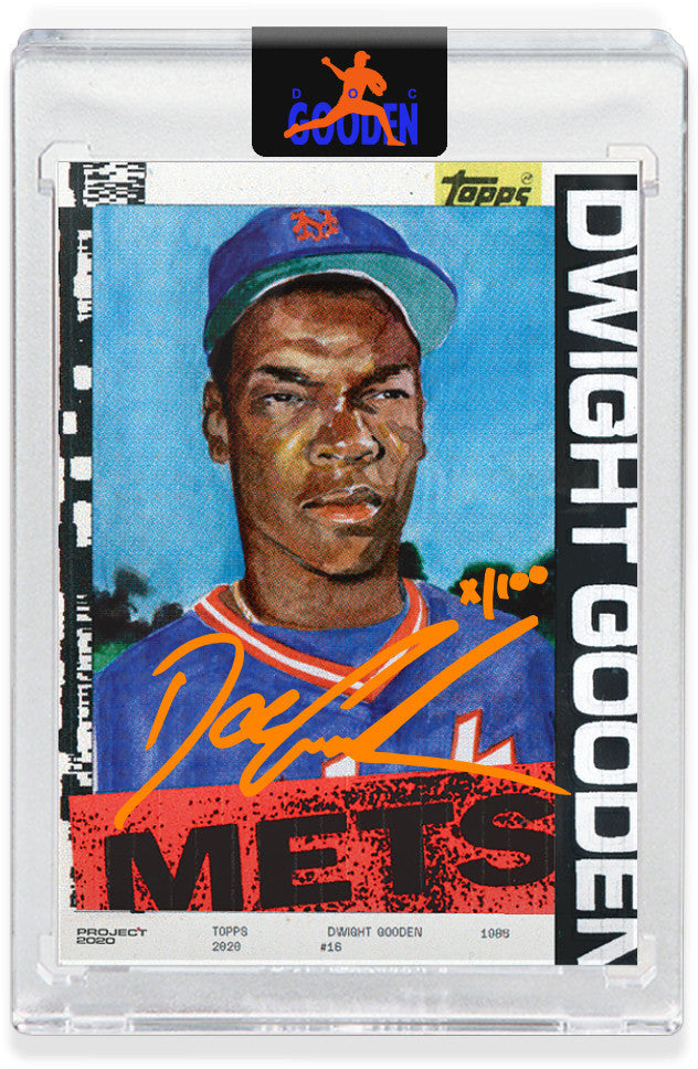 GOODEN16.COM ORANGE AUTOGRAPH EDITION - Topps PROJECT 2020 Card 164 by Jacob Rochester - LIMITED TO 100 [PRE-ORDER]