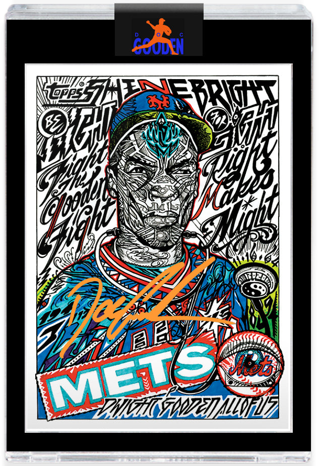 GOODEN16.COM ORANGE AUTOGRAPH EDITION - Topps PROJECT 2020 Card 258 by JK5 - LIMITED TO 50 [PRE-ORDER]