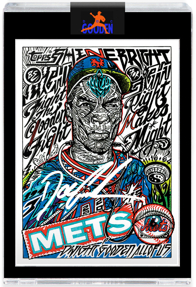 GOODEN16.COM WHITE AUTOGRAPH EDITION - Topps PROJECT 2020 Card 258 by JK5 - LIMITED TO 50 [PRE-ORDER]
