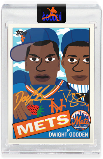 GOODEN16.COM ORANGE AUTOGRAPH EDITION - Topps PROJECT 2020 Card 203 by Keith Shore - LIMITED TO 100 [PRE-ORDER]