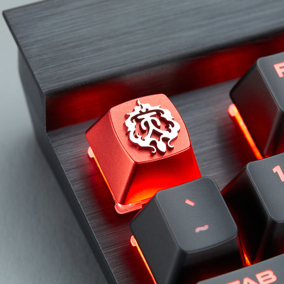 JX Online 3 Series Tian Ce Faction Aluminum Artisan Keycap