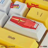 MOBILE SUIT GUNDAM SERIES RX-78-2 SHIELD ALUMINUM ARTISAN KEYCAP