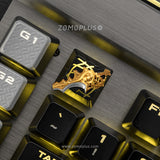 DOTA2 SERIES ALUMINUM ARTISAN KEYCAP SET OF 4