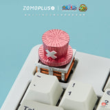 ONE PIECE CHOPPER'S HAT ALUMINUM ARTISAN KEYCAP