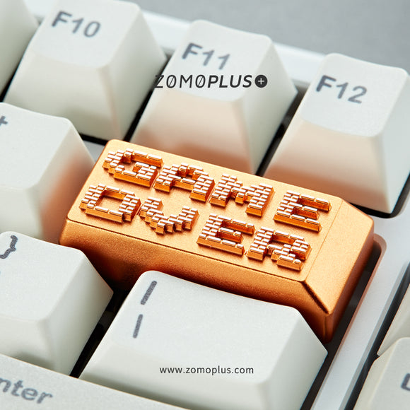 GAME OVER ALUMINUM ARTISAN KEYCAP