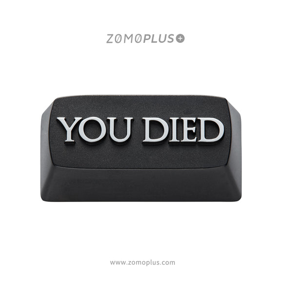 YOU DIED ALUMINUM ARTISAN KEYCAP
