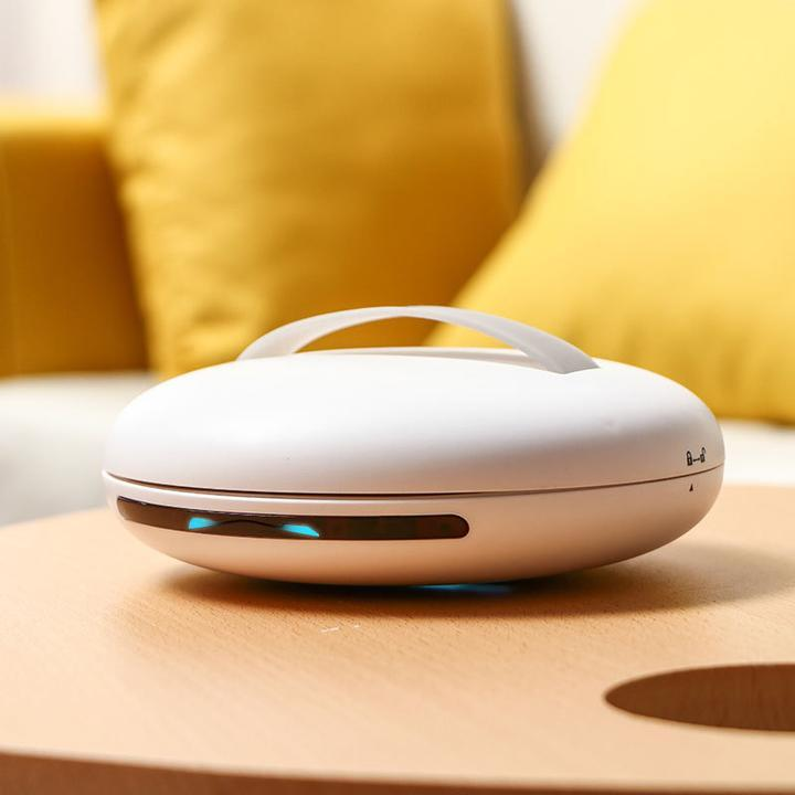Automatic UV Disinfecting Robot Vacuum