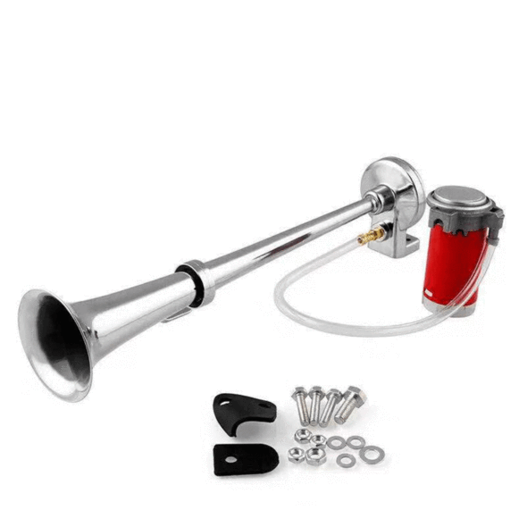 150 DB Train Horn with Air Compressor - Loudest Electric Horn