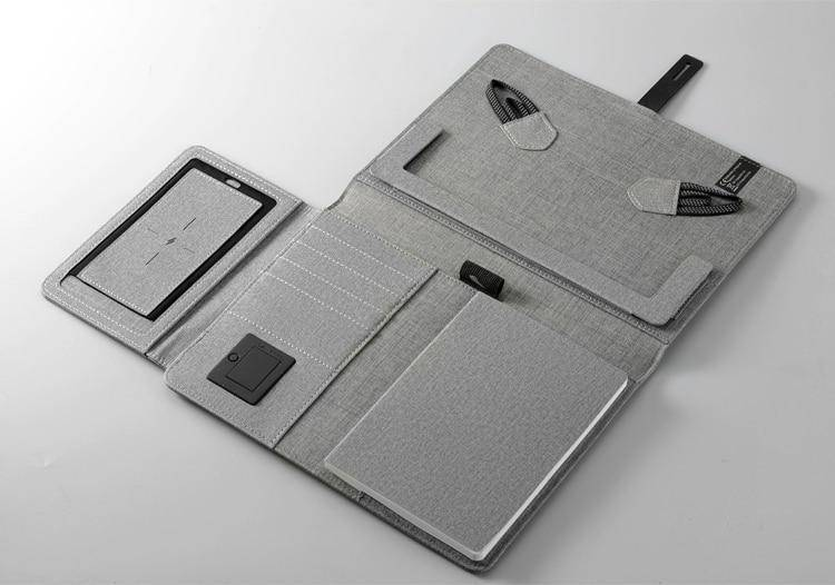 TravelPad - All in One Padfolio & Wireless Powerbank