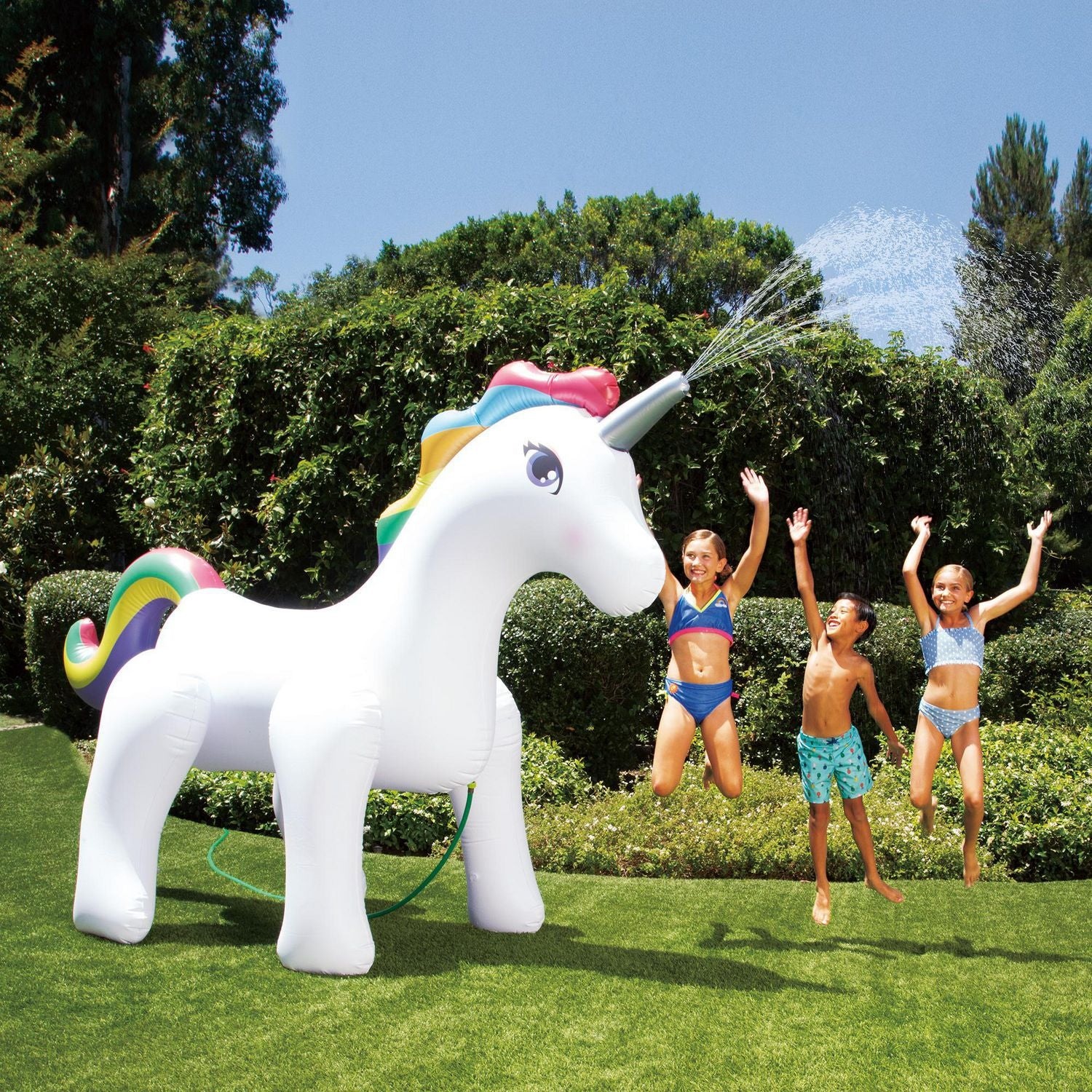 Giant Inflatable Garden Unicorn Sprinkler