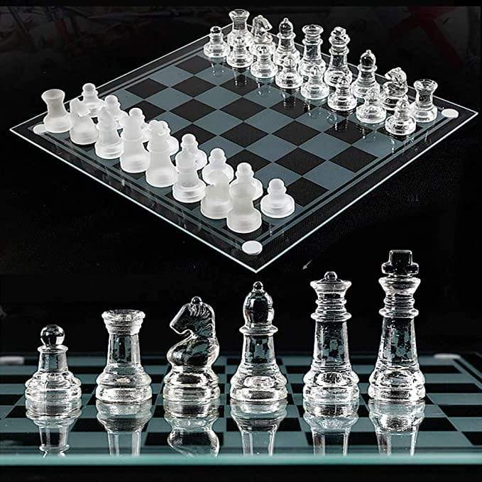 Luxury Glass Chess Board