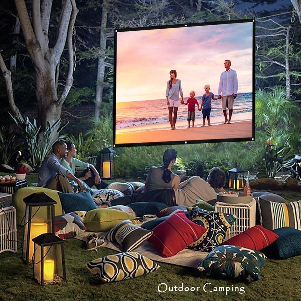 60 to 150 Inch Portable Outdoor Movie Screen
