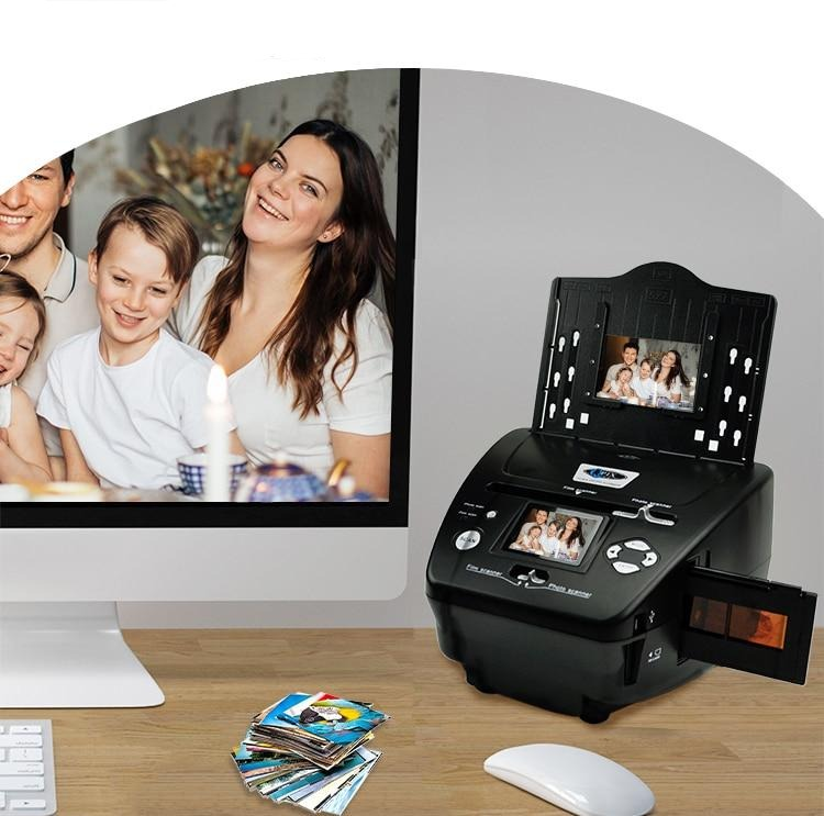 4 in 1 Negative Photo Film Slide Scanner