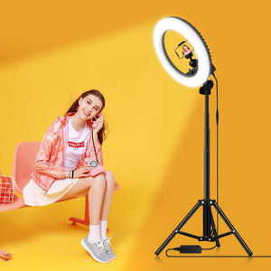 Professional Ring Light for Photography, Video Calls & Streaming