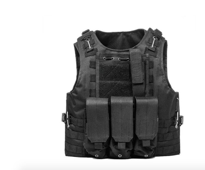Military Tactical Plate Carrier Vest Body Armour