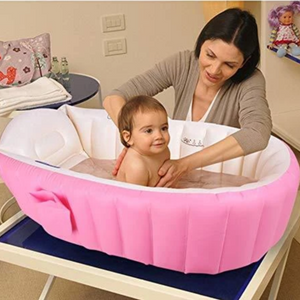 Inflatable Baby Shower Bathtub