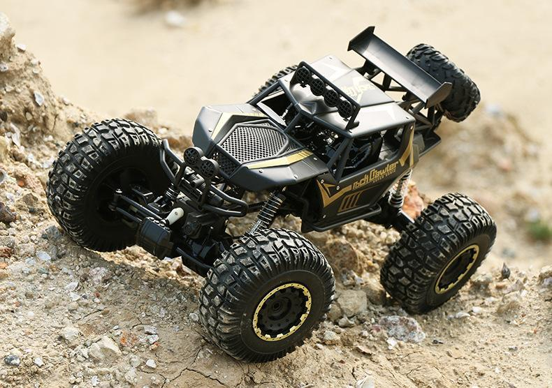Large RC Truck 1.8 4x4 4WD 2.4G High Speed Bigfoot Remote Control Buggy
