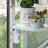 Floating Window Shelf Flower Pot Holder - No Drill & No Nails