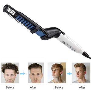 Hair Styler & Beard Straightener for Men