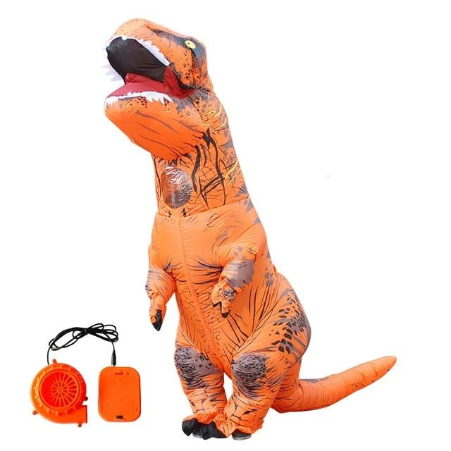 Inflatable T-Rex Dinosaur Costume